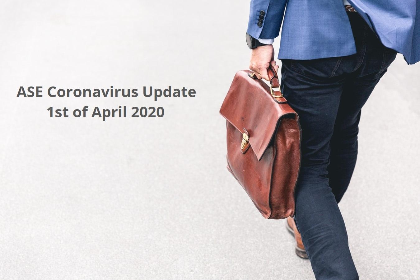 ASE Coronavirus Update