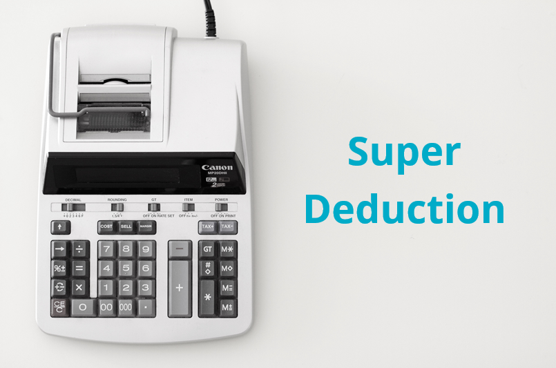 Super deduction