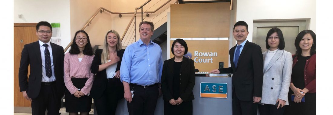 Minister Counsellor Bao Ling Visits ASE Global's Headquarters